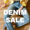 UP TO 30% OFF - ALL DENIM ITEMS